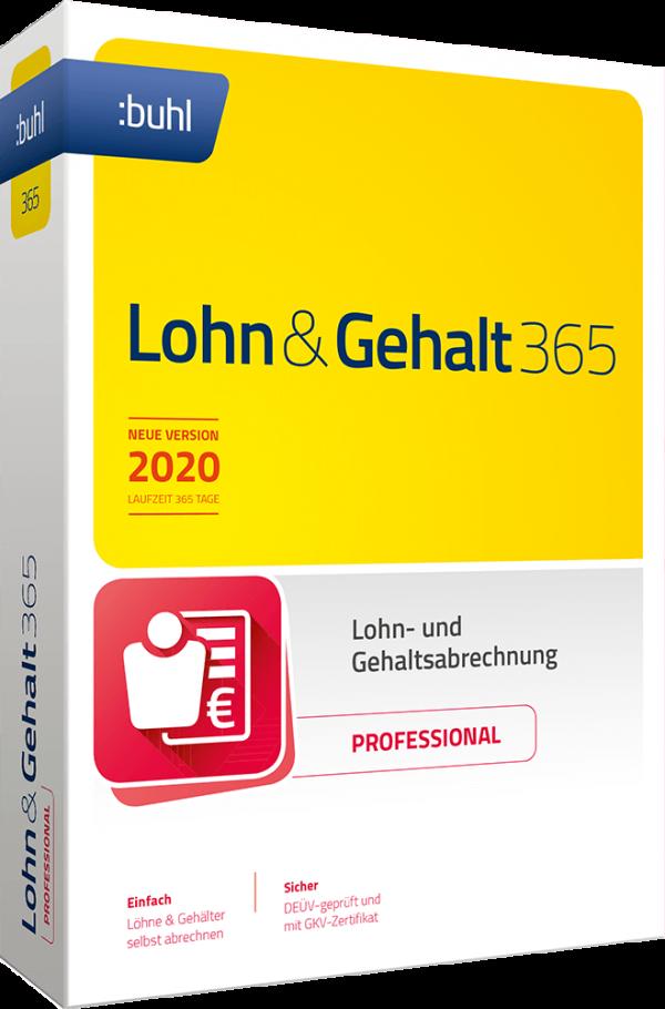 buhl Unternehmer Lohn Und Gehalt 365 Professional 2020 Links