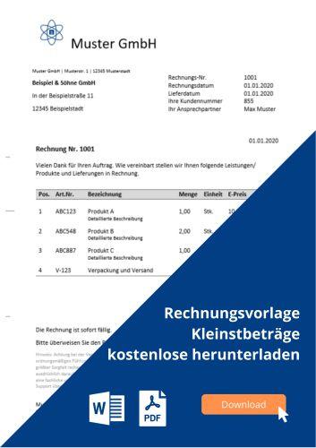 Rechnung Auf Englisch Pflichtangaben Muster Vorlage 10