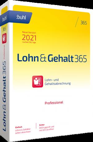 buhl Unternehmer Lohn und Gehalt 365 Professional 2021 Links