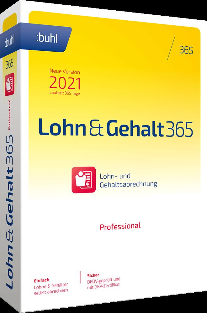 buhl Unternehmer Lohn & Gehalt 365 Professional
