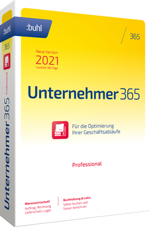 buhl Unternehmer 365 Professional 2021 Links