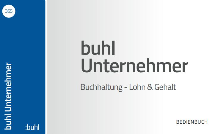 buhl Unternehmer Bedienhandbuch
